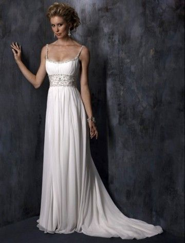 Beautiful, If I ever renew vows with my husband this is the Dress.
