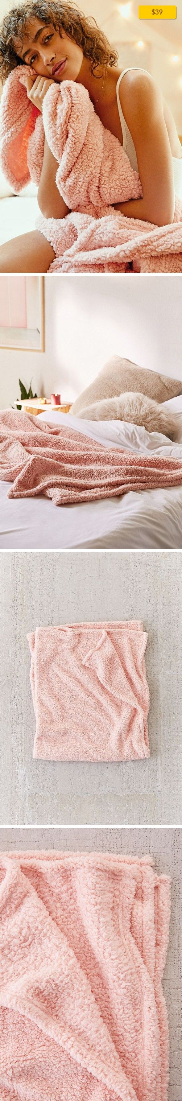 """Amped Fleece Throw Blanket Apartment, Bedding, Pillows + Throws   Super soft + cozy fleece blanket you'll always wanna be wrapped up in. In lots of colors to suit any space, drape it on a chair, couch or at the foot of your bed. Great for travel, too! Content + Care - Polyester - Spot clean - Imported Size - Dimensions: 60""""l x 71""""h"""