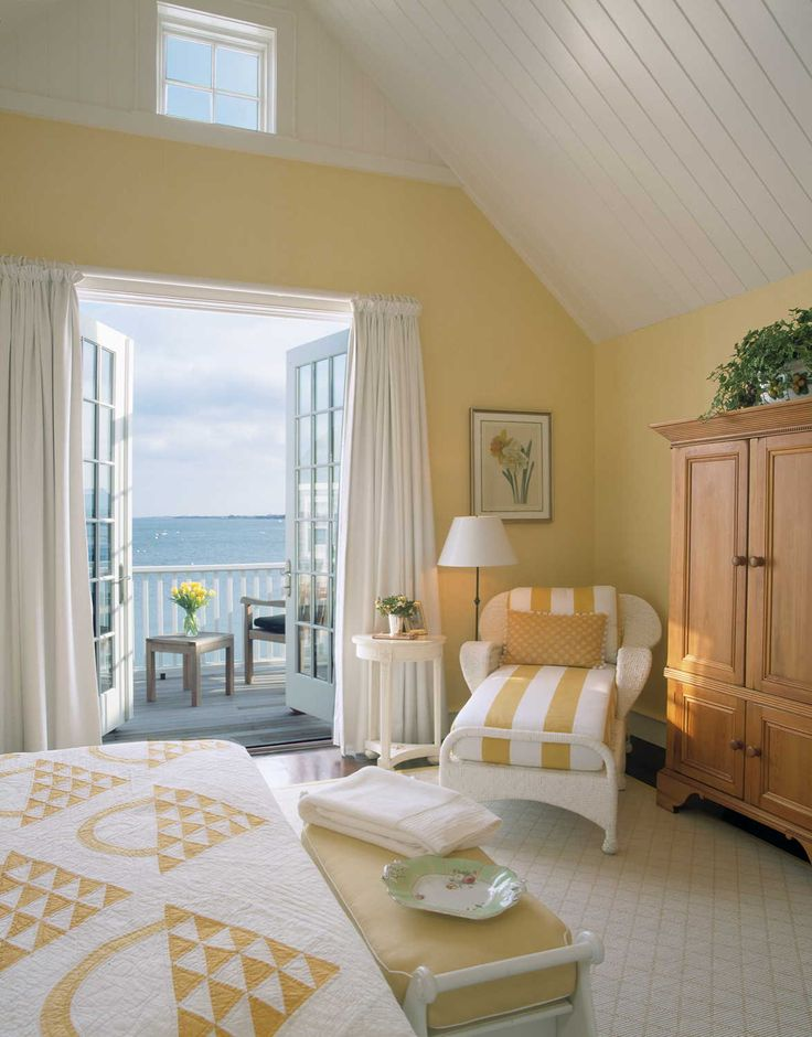 25 best ideas about beach cottage bedrooms on pinterest 13889 | a0d120f87f57e2e665a49b1c6fdd4599 yellow master bedroom gold bedroom