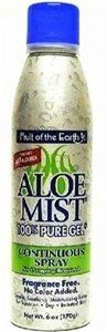 Fruit of the Earth Aloe Mist 100 Pure Gel Continuous Spray 6oz PACK OF 2 ** To view further for this item, visit the image link.