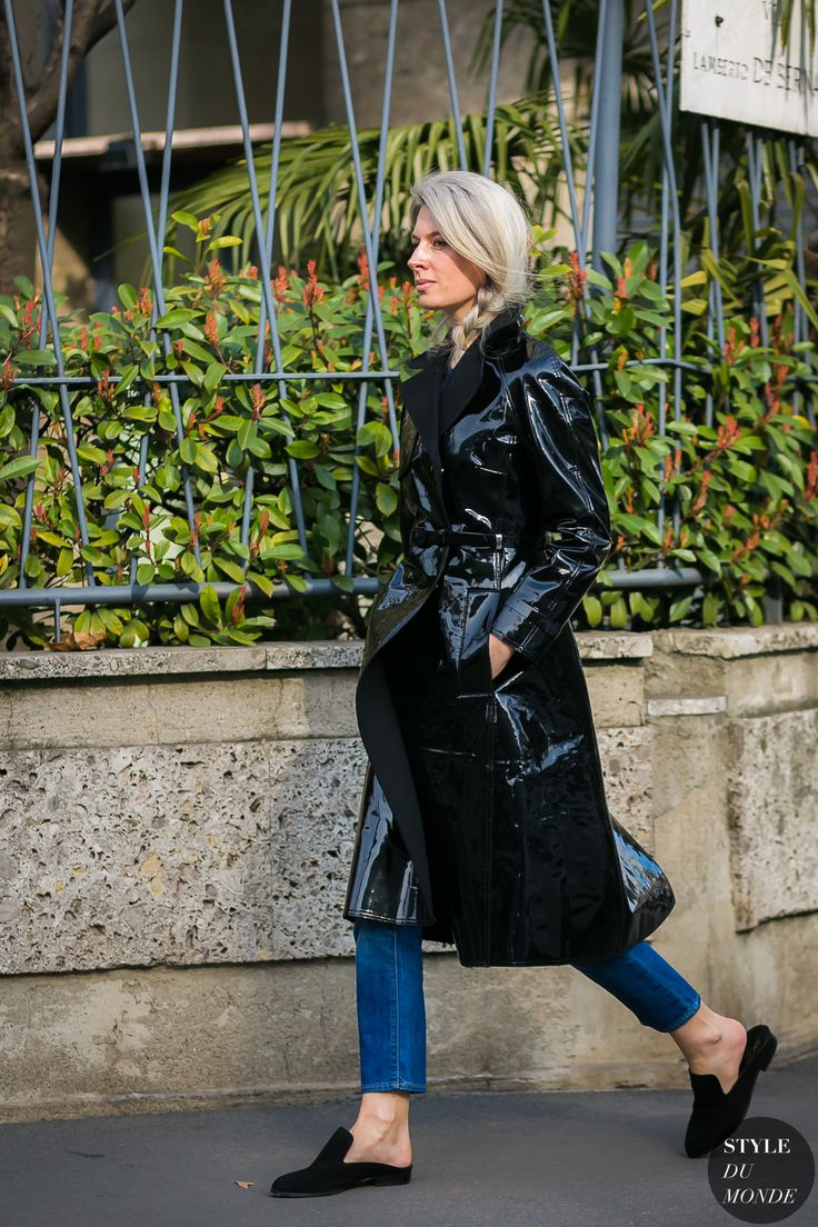 Milan Fashion Week Fall 2017 Street Style: Sarah Harris