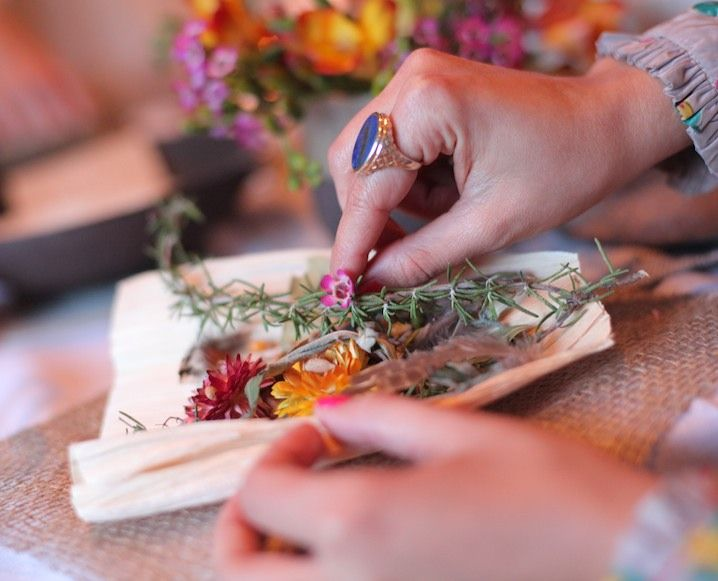 INSIDE A STUNNING SPRING EQUINOX PARTY