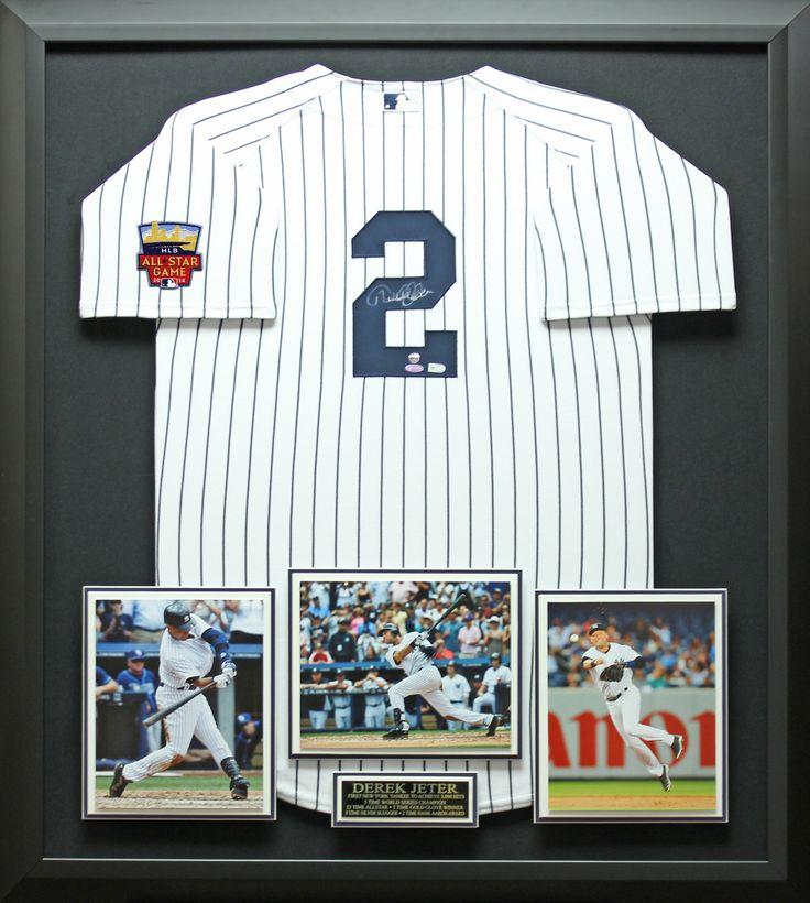 Signature Royale - Derek Jeter Signed NY Yankees Jersey with 2014 All Star Patch Display. #MLB, #allstar, #derekjeter, $2,174.95 (http://www.signatureroyale.com/derek-jeter-signed-ny-yankees-jersey-with-2014-all-star-patch-display/)