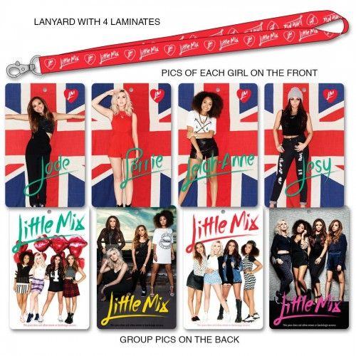 Little Mix Tour Lanyard