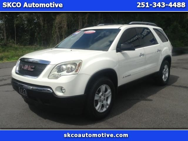 Used 2008 Gmc Acadia Sle 1 Fwd For Sale In Mobile Al 36608 Skco