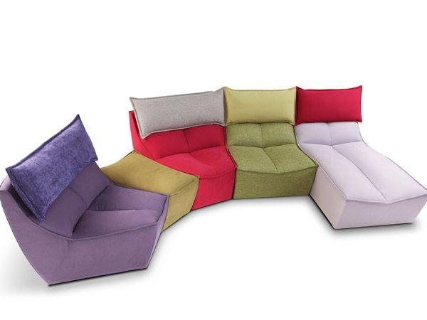 Il divano componibile di clia italia hip hop eyecandy for Cama 0 90 x 1 90