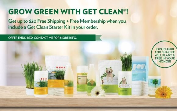 Starting Tomorrow through 4/30 - Get Clean in April classiccutters.myshaklee.com