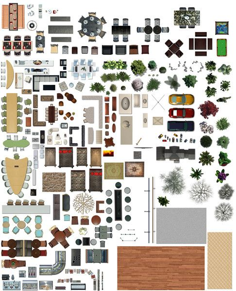 Texture psd plan view floor photoshop pinterest for Plan en 2d