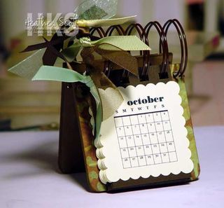 How to make table calendars .