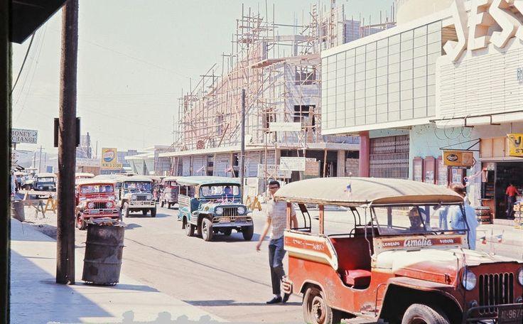 https://flic.kr/p/A5UqNS | Street Scene. Olongapo, Zambales. Circa 1960