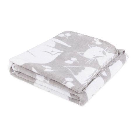Manta algod n zorros mantas cama zara home espa a for Zara home mantas