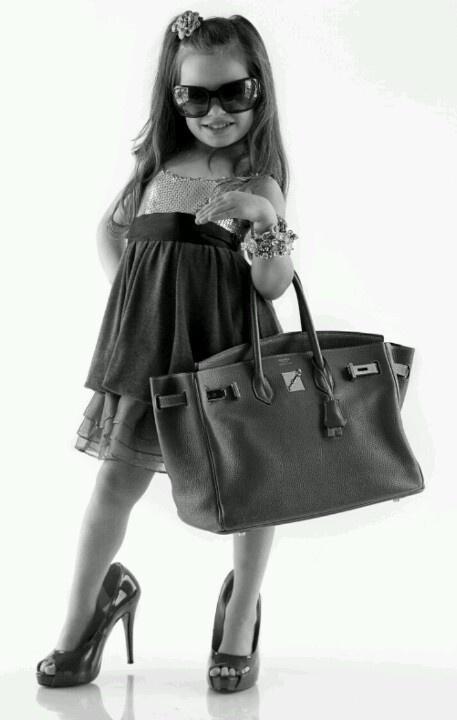 lol this is so my daughter, always walking around in my heels.
