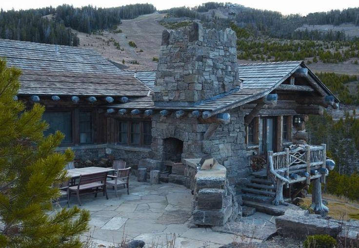 182 best images about rustic design on pinterest for Custom home builders wyoming