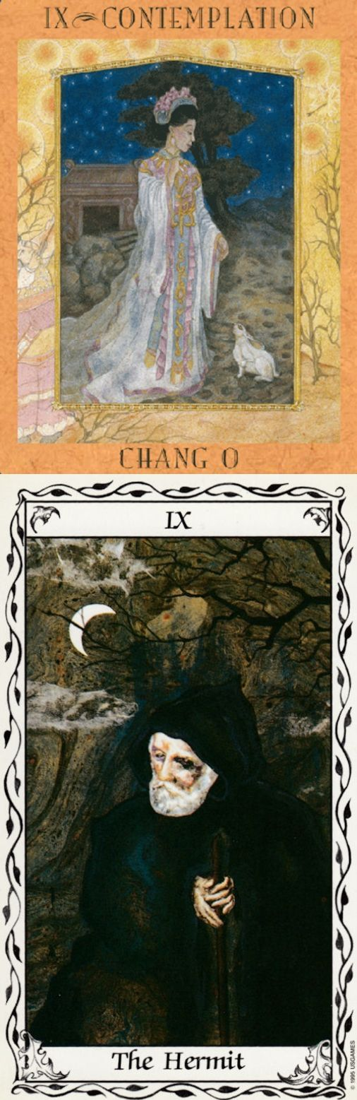 THE HERMIT: solitude and loneliness (reverse). Goddess New Tarot deck and Hudes Tarot deck: free trusted tarot, tarotapokalypsis and divination cards. The best gothic architecture and tarot reading for beginners. #thestar #chariot #ios #tarotcardsforbeginners