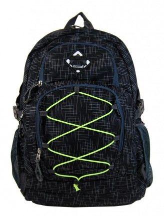 Velký batoh NEWBERRY do města / do školy HL0911 černý - Kliknutím zobrazíte detail obrázku.