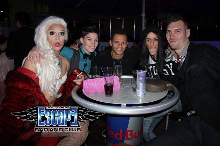 Escape Bar Gold Coast June 2014 Gay Bar Surfers