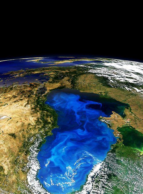 Black Sea. Beautiful.