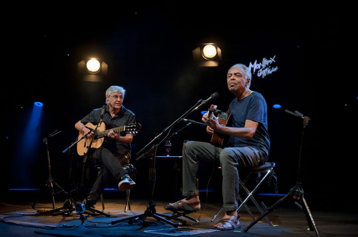 MUSIC PHOTO NEWS: Ceatano Veloso & Gilberto Gil