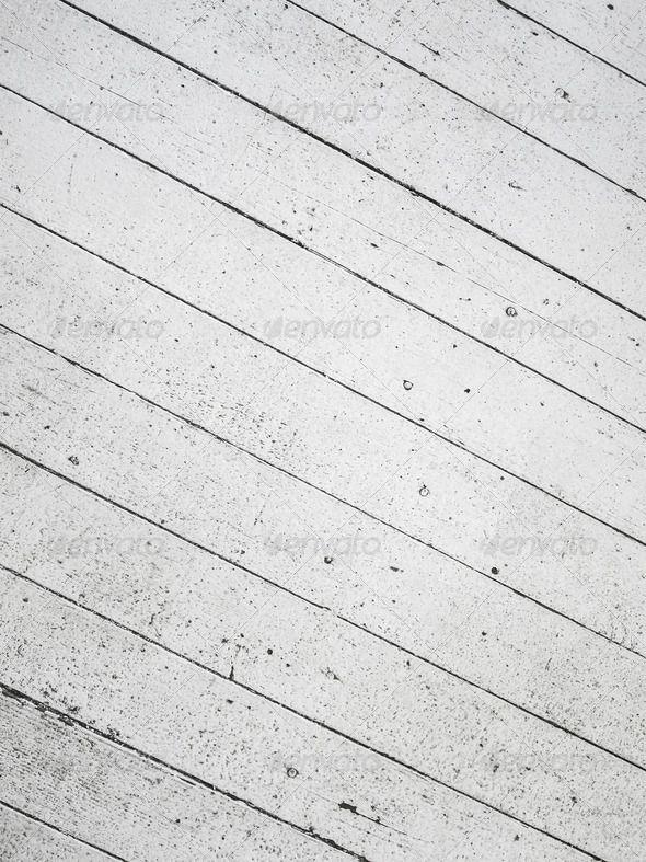Old white wooden floor 7