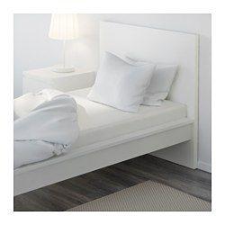 IKEA - KNOPPA, Lençol de baixo ajustável, , Mistura de poliéster/algodão para que o tecido seja mais fácil de cuidar, evitando que enrugue ou encolha.Adapta-se a colchões até 25 cm de espessura, graças às suas extermidades elásticas.