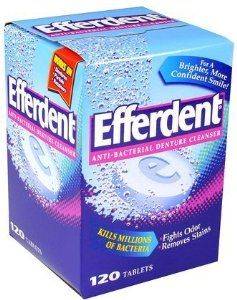 Are Denture cleaner removes anal stains remarkable, very