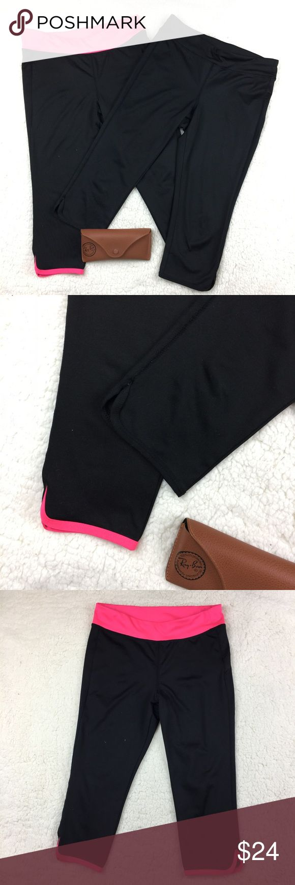 Yoga/gym  Old navi leggings girls size. Like new condition• sell as a bundle• please check the pictures for measurements clarification• Bundle for extra savings• Fast shipping • Old Navy Bottoms Sweatpants & Joggers