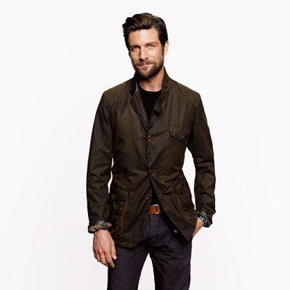 J.Crew - Barbour® dept (B) commander jacket
