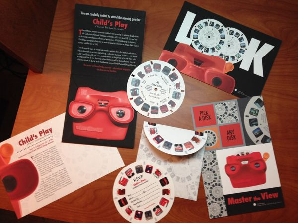 View-Master Gala Invitation | Student Work on Behance