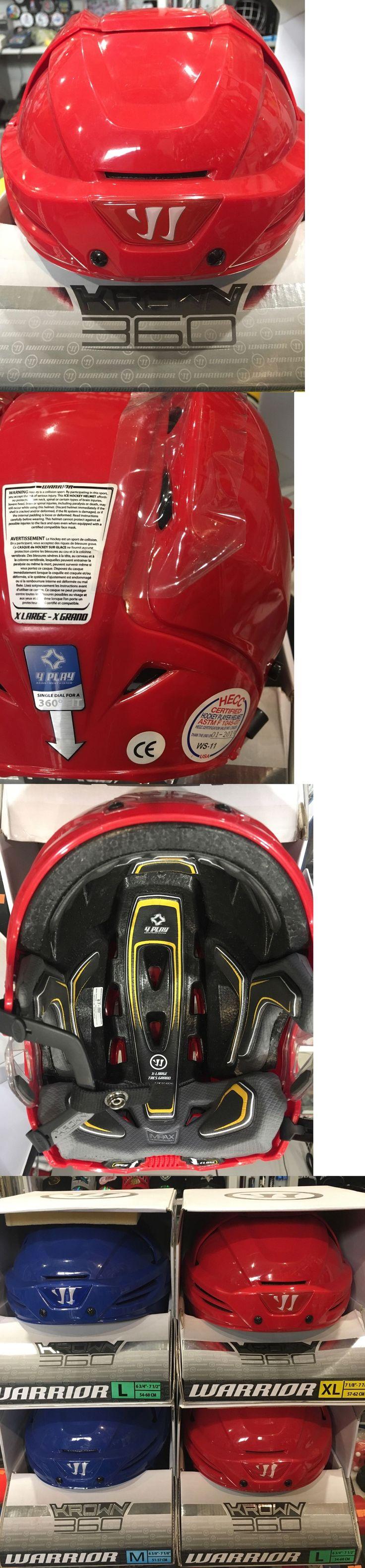 Helmets 20854: Pro Return Warrior Krown 360 Sr. Hockey Helmet -> BUY IT NOW ONLY: $55 on eBay!