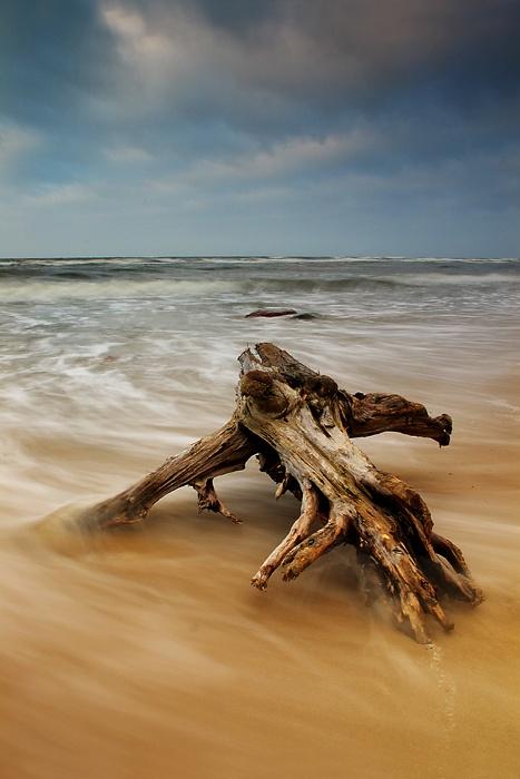 Baltic Sea cost, Poland; by Marcin Matecki
