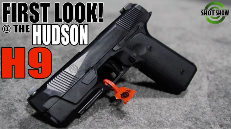 A Striker-Fired 1911!? | The HUDSON H9 First Look At The Range ...