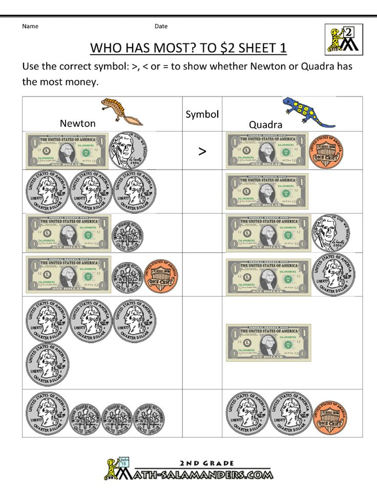 74 best MATH images on Pinterest | Counting coins, Counting money ...