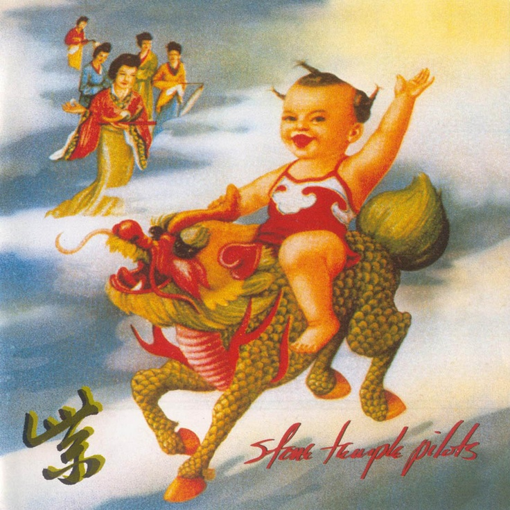 Stone Temple Pilots album cover Purple reference