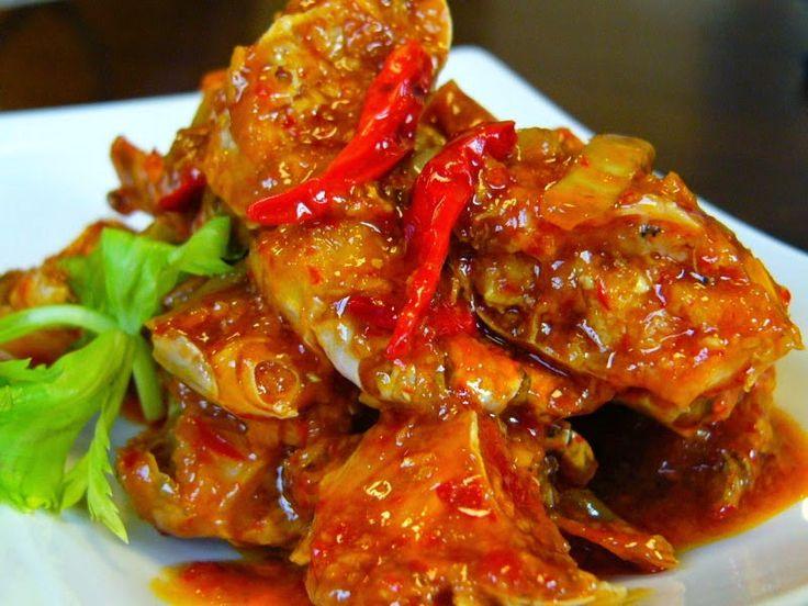 TTM Tips Trik Memasak: Resep Kepiting Pedas Asam Mangga