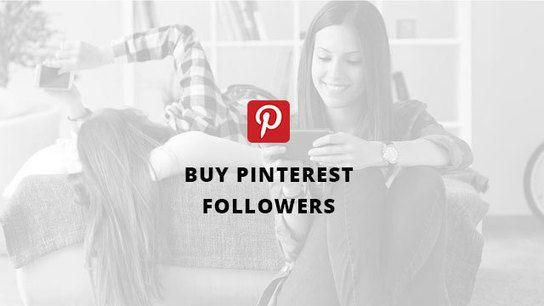 Buy Pinterest Followers From $3