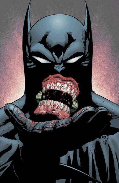 Los cómics de Batman convertidos en GIF espeluznantes | The Creators Project