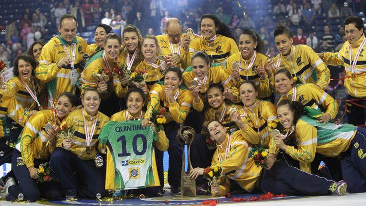Brazil wins handball world championship  #ExtraNoPinterest