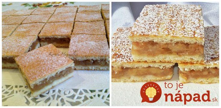 Cukrárske jablkové rezy: Geniálny koláč z prvej republiky, recept zdedený po babičke!