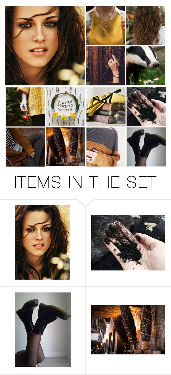 """Fem! Harry Potter (Hufflepuff)"" by demiwitch-of-mischief ❤ liked on Polyvore featuring art"