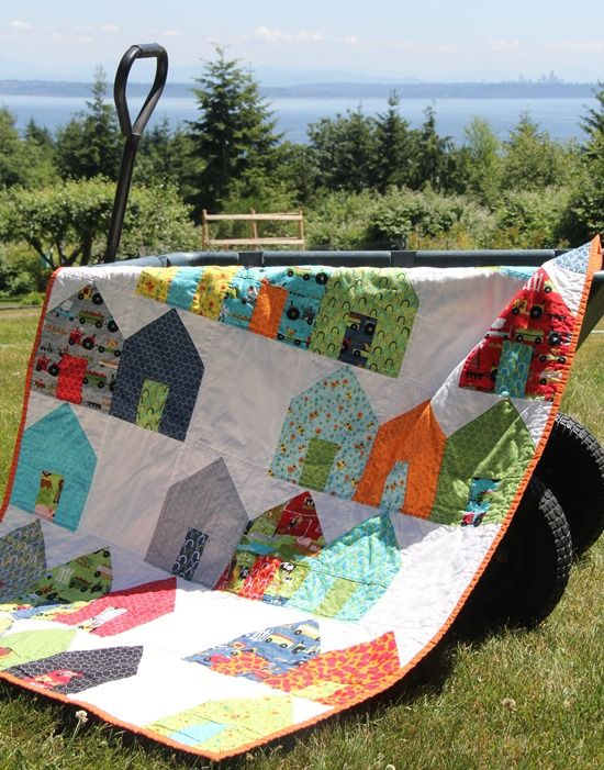 Another darling quilt pattern from Cluck Cluck Sew!