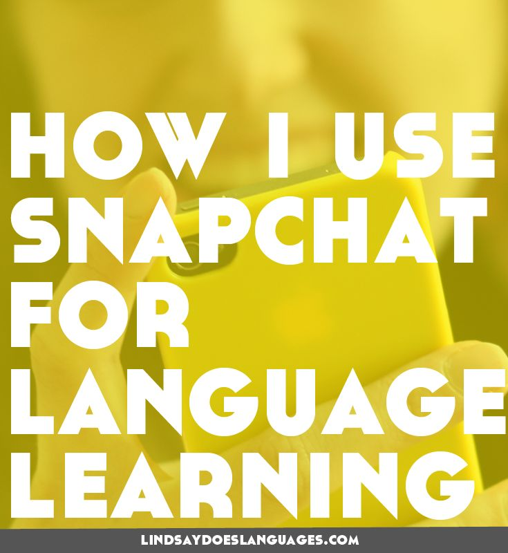 Have you tried Snapchat for language learning? In this post I share my three…