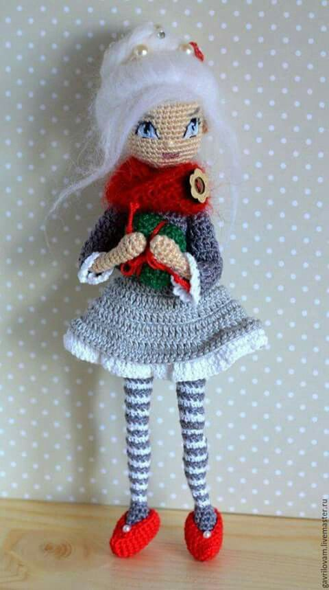 Understanding Amigurumi Patterns : 5357 best images about Amis on Pinterest Girl dolls ...