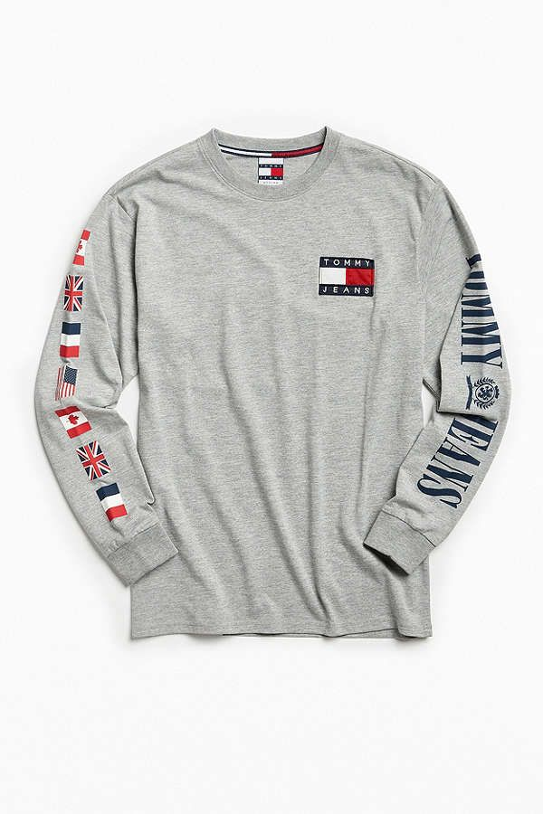 f6437958 Tommy Hilfiger '90s Long Sleeve Tee | Hype | Tommy hilfiger shirts ...