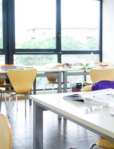 Classroom at the Bologna Alma Mater campus
