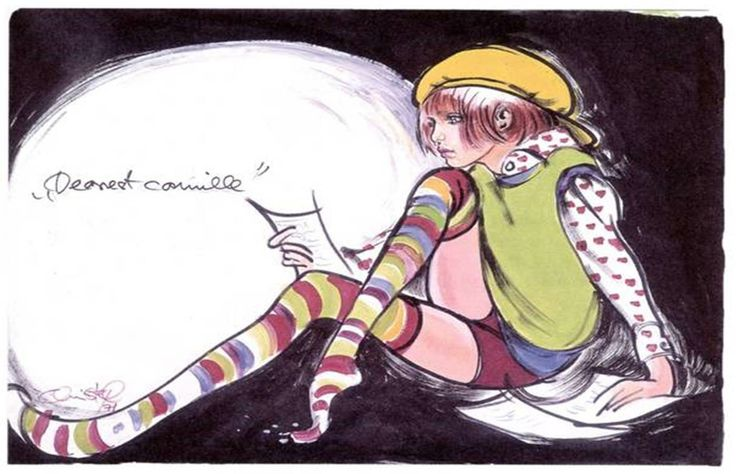 Christel illustration from the 70s.