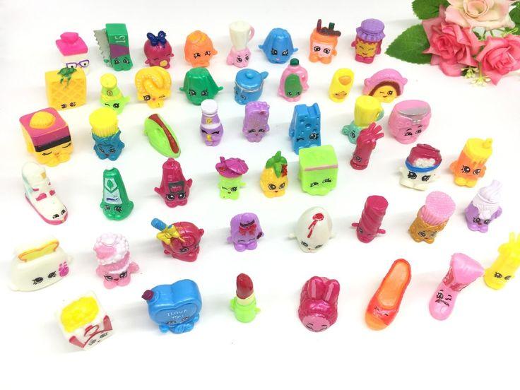 20 개/대 상점 시즌 1 2 3 4 5 과일 상인 가족 쇼핑 혼합 장난감 인형 집 장난감 플레이 장난감