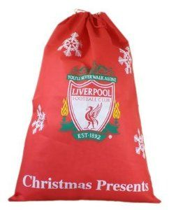 Liverpool Fc Football Club Santa Father Christmas Gift Sack by Liverpool F.C.. $14.98. Official Licensed Product. Liverpool F.C. Present Sack 90 X 60 Official Licensed Product