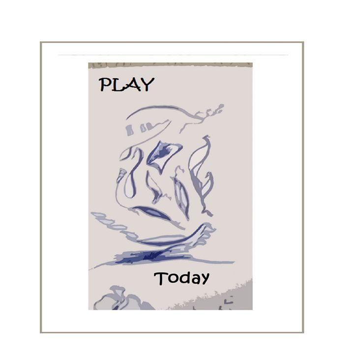 Play Today is a nice fun piece of art drawn in pencil, edited in word and paint. This art piece will stimulate any child's resting mind. It's just the piece of art to have in your child's bedroom wall. By Tate Artwork