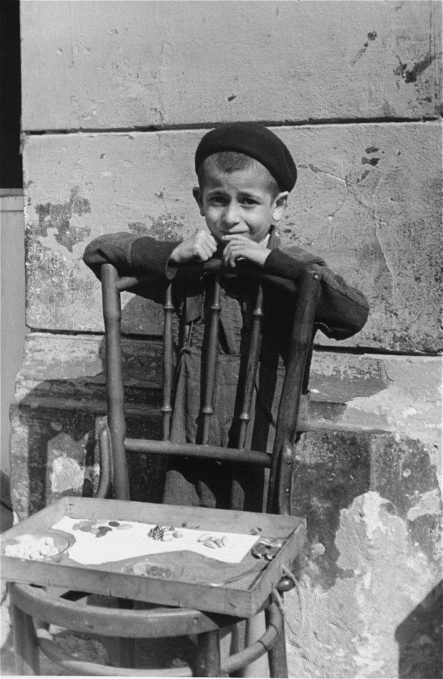 Warsaw Ghetto. Picture taken by a German soldier, Willy Georg.
