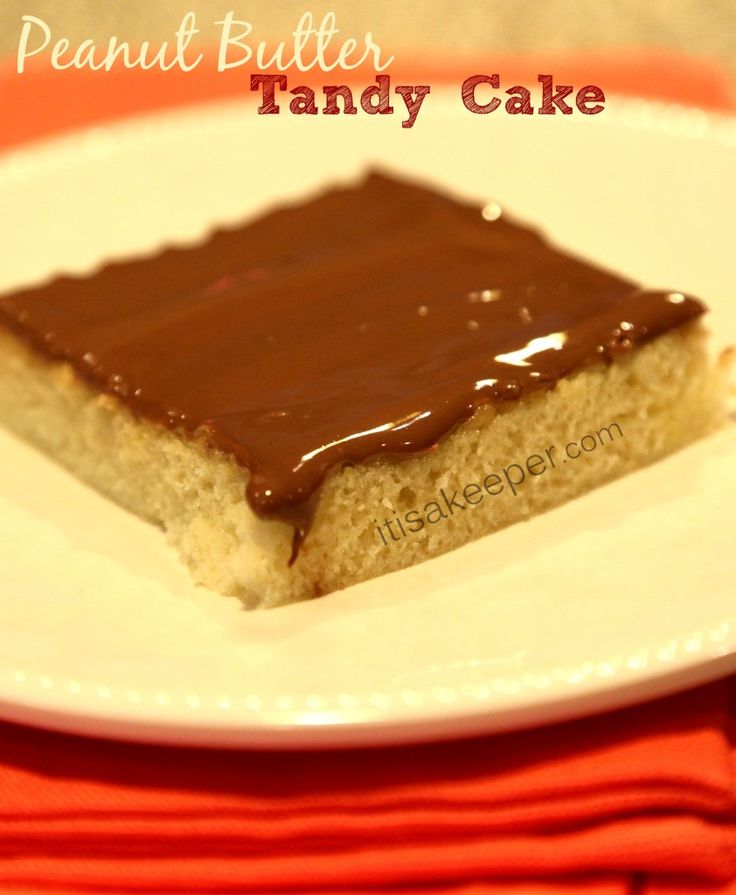 Best Peanut Butter Tandy Cake Recipe